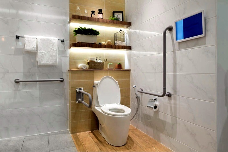 Accessibility Bathroom - complete design, supply and fit service from experienced bathroom remodellers, Dublin Bathrooms