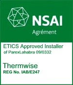 National Standards Authority (NSAI) Registered Installer for External Thermal Insulating Composite Systems (ETICS)