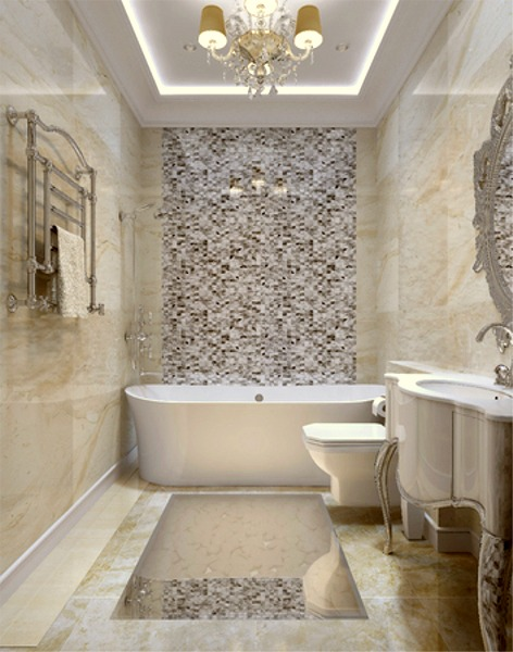 Elegant bathrooms best home design 2018 for Elegant small bathrooms
