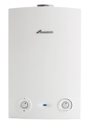 Greenstar Worcester Borsch wall mounted gas boiler: example of a high energy efficient condensing boiler as fitted by Dublin Bathrooms, Ireland